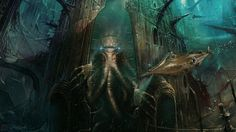 Reckoning At Rlyeh by OliverInk