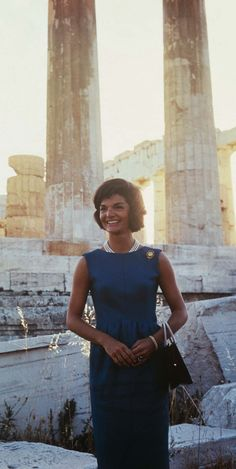 Greece Is the Word—Here's How to Copy Jackie's Style Formula