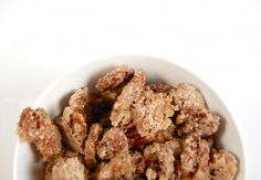 Easy Candied Pecans | The Kitchen Radio
