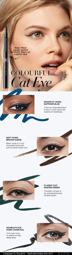Pro Tip from Kelsey: For Fall switch up your go-to black liner for a rich bold shade like Hunter Green or Sapphire Blue. All lines point to gorgeous.