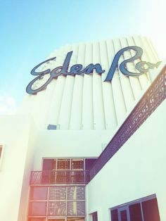 Eden Roc Miami Beach. Great shot of our rooftop!