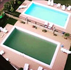 What do you think of when you look  at the Green Pool?  Gross  Sluggish  Sick  What about the Blue Pool?  Refreshing  Inviting  Fun  Swim all day  If you wouldn't  swim in a Green Pool, why would you walk around in one⁉️ Your body needs to be at a proper PH ❤️ to be energized, healthy, happy, & clear minded. It Works! Greens balances your alkalinity and detoxifies your body!! Message me to start YOUR 90 Day Challenge and be amazed how you will feel!