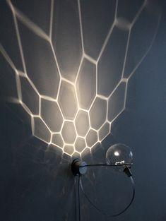 onsomething:  onsomething 'Magika' wall lamp by Kirsti Taiviola