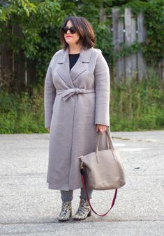 the curated tailored coat review