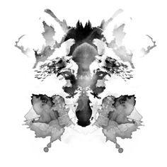 Rorschach Print by Robert Farkas