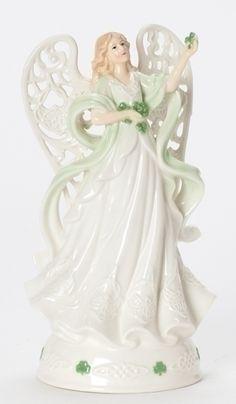 Irish Angel musical figurine.  http://www.thecollectorshub.com/irish-angel-figurine.html  #irishangel