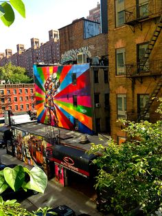 Building Decoration Along the High Line, New York City by David Stone / Picfair