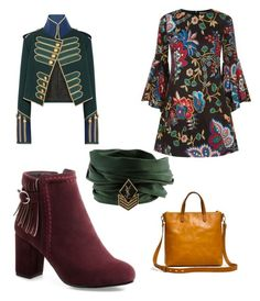"""""""Army"""" by prisdestyles on Polyvore featuring moda, Alice + Olivia, Madewell, Burberry y Yves Saint Laurent"""