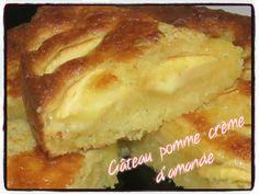 Gâteau aux pommes crème d'amande