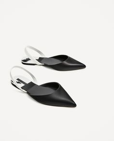 ZARA - WOMAN - FLAT SLINGBACK SHOES