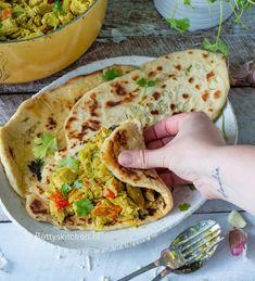 Indiase kip curry met kool en broccoli