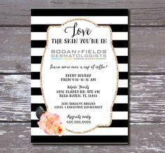 Rodan and Fields Invitation Beauty Skin Care by PartyPrincipessa, $13.00 Rodan + Fields