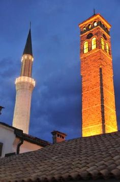 Sarajevo, Bosnia This is so beautiful. A lot of people think that, because of the war, people of different religions and races can't coexist in Bosnia; this just shows that that's not true