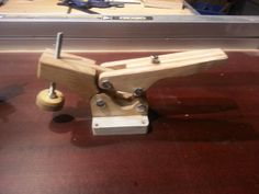 Shop built toggle clamp