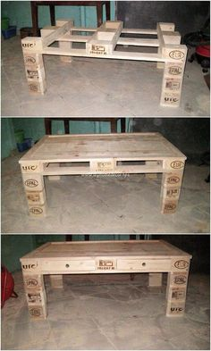 It would turn out to be so mind-blowing looking in appearance as you would carry out the adjustment of setting the wood pallet as the table artwork designing concept. It is being all evident in this image that the wood pallet fantastic project is custom fixed with the ideal wood use.