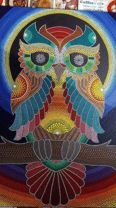 Abstract Painting Techniques, Dot Art Painting, Mandala Painting, Stone Painting, Mandala Art Lesson, Madhubani Art, Indian Art Paintings, Mandala Dots, Aboriginal Art