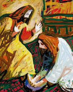 Christ Washing Feet - (Article: What Does Gospel-Centered Leadership Look Like? Christian Artwork, Christian Images, Religious Images, Religious Art, Scripture Art, Bible Art, Biblical Art, Jesus Pictures, Catholic Art
