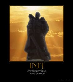INFJ - Stand up to evil.