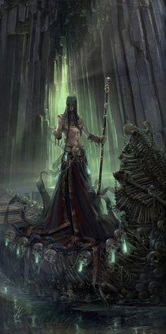 Charon - fantasy character concept by Raluca Iosifescu Greek mythology