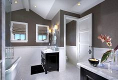 Window treatment for your bathroom