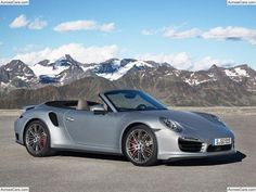 Porsche has pulled the wraps off of a pair of 911 Turbo Cabriolet models bringing the total number of 911 Turbo cars available for 2014 to four. Porsche has announced the 911 Turbo Cabriolet and th… Porsche 911 Cabriolet, Porsche Boxster, Porsche 911 Turbo, Carros Porsche, Porsche 911 Models, Porsche Autos, New Porsche, Porsche Cars, 911 Turbo S