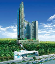 Omkar Alta Monte a new luxurious residential project at Malad East developed by Omkar Realtors and Developers.