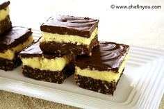 Classic Canadian Nanaimo Bars (Bonus for some... these are gluten free)