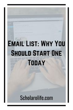 Learn why an email list is important and how to make money from an email list. Discover how to start and grow and email list. Make Money Online, How To Make Money, Lead Magnet, Email Marketing Strategy, Best Email, Email List, Copywriting, Case Study, Online Business