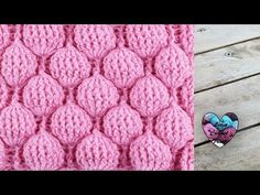 Crochet Balloon Stitch Baby Blanket - Easy Tutorial + Free Video Guide