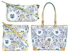 This year, Disney Vacation Club is celebrating its Anniversary. To mark this milestone, the Disney Theme Park Merchandise team has created a collection of commemorative anniversary products. Disney Handbags, Disney Purse, Disney Dooney, Disney Vacation Club, Disney Vacations, Anniversary Jewelry, 25th Anniversary, Disney Outfits, Disney Clothes