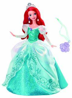 Disney Princess Holiday Princess Ariel Dolls, buy baby dolls for girls Disney Barbie Dolls, Ariel Doll, Disney Princess Dolls, Princess Toys, Disney Princess Dresses, Ariel Disney, Mattel Dolls, Ice Princess, Dolls Dolls