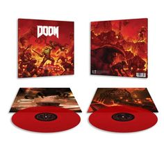 If you want to customize a good-looking CD/DVD/vinyl and merch, visit www.unifiedmanufacturing.com. #vinylrecords #vinylpackaging #vinylart #doom Vinyl Record Art, Vinyl Art, Vinyl Records, Soundtrack, Video Game, Packaging, Wrapping, Video Games, Videogames