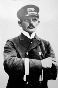 Found: A letter written by Carl Hans Lody (pictured), the first German spy to be captured ...