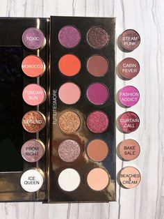 Makeup geek dupes for coloured raine Zombie Make Up, Make Up Geek, Make Up Palette, Kat Von D Makeup, Makeup Guide, Makeup Blog, Makeup Stuff, Skin Makeup, Beauty Makeup