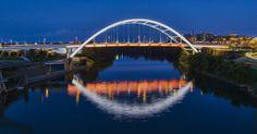 Gateway Bridge - Nashville - by Stephen Stookey fineartamerica.com #gatewaybridge #nashville #bridges