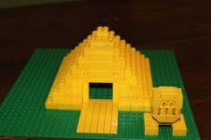 Lego pyramid - with Sphinx!!