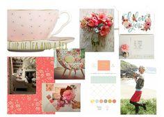 Blog Boss Oct/Nov 2014 e-course, color season mood board by Rebecca Jenkins…