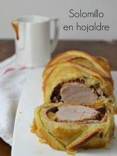 """Cuuking! Recetas de cocina: Solomillo de cerdo en hojaldre o """"Wellington"""""""