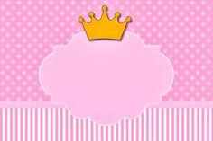 Imágenes y marcos con coronas de Princesas | Imágenes para Peques