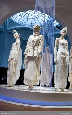 Nordiska museet - Fotograf Landin, Mats Swedish Fashion, Matcha, Statue, Sculptures, Sculpture