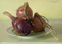 stilllifequickheart:  Claudio Bravo Onions 2012  The incomparable Claudio Bravo.
