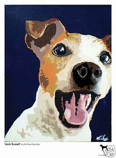 Limited Edition 'Jack Russell' Print by Kathryn Saunby | eBay