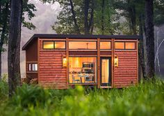 Escape Traveler is a tiny cabin on wheels that can be moved anywhere Escape Traveler RV – Inhabitat - Sustainable Design Innovation, Eco Architecture, Green Building