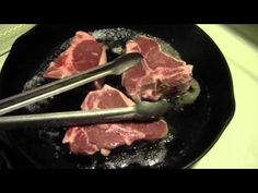 PREPARING LAMB CHOPS - YouTube