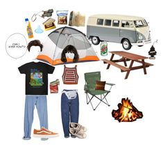That One Camping Trip by organicpeach on Polyvore featuring polyvore, Rachel Comey, Levi's, Boutique, adidas, Vans, Everest, Banana Boat, DutchCrafters, Authentic Models, Marmot, fashion, style and clothing