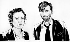 Alec Hardy and Ellie Miller - Broadchurch by on DeviantArt Jason Isaacs, Love Of My Life, My Love, Broadchurch, Rose Tyler, David Tennant, Sebastian Stan, User Profile, Doctor Who