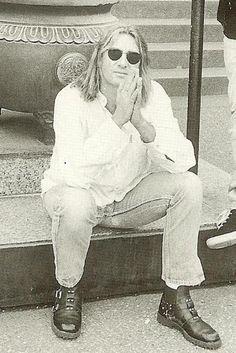 Mr. Elliott, the man in the cool white shirt