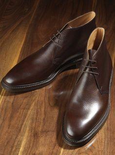 The Brecon Chukka Boot in Dark Brown