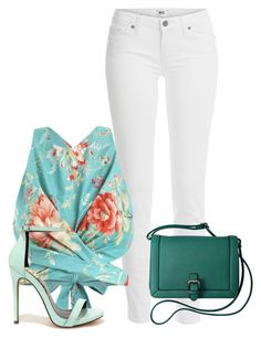 """""""Sem título #544"""" by elaine-ao-souza ❤ liked on Polyvore featuring Paige Denim, Zimmermann and Fahrenheit"""