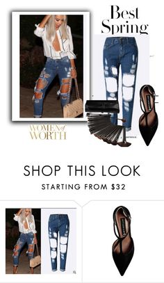 """Sanrense# I-07"" by merima-musanovic ❤ liked on Polyvore featuring H&M and Steve Madden"